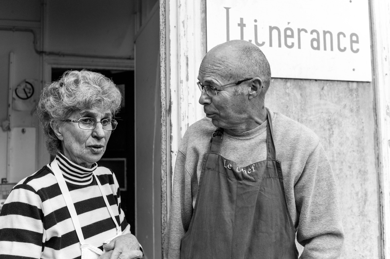 Bénévoles d'Itinérance Cherbourg. (Crédits Richard Menant)